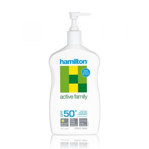 Hamilton Active Family Lotion SPF50+, 500ml